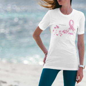 breast-cancer-white-t-shirt-ribbon